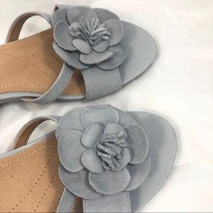 Clarks Artisan Parram Stella Flower Sandal 7